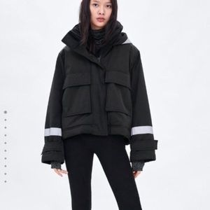 Zara. Limited edition. Antarctic collection parka